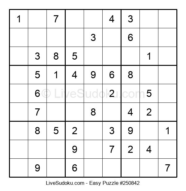Beginners Puzzle #250842