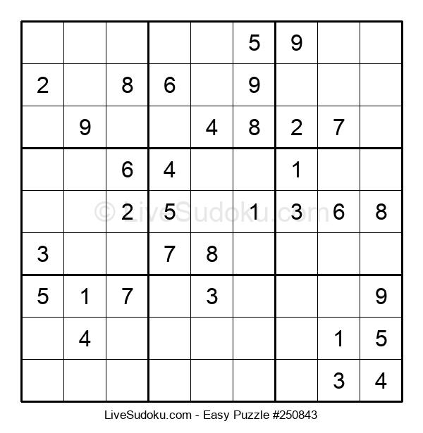 Beginners Puzzle #250843
