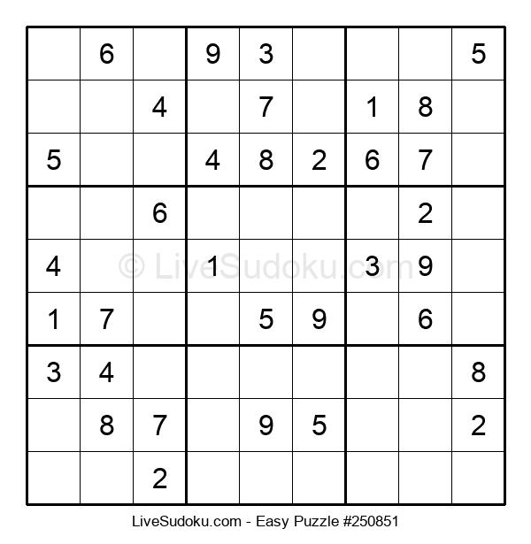 Beginners Puzzle #250851
