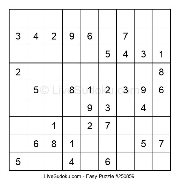 Beginners Puzzle #250859