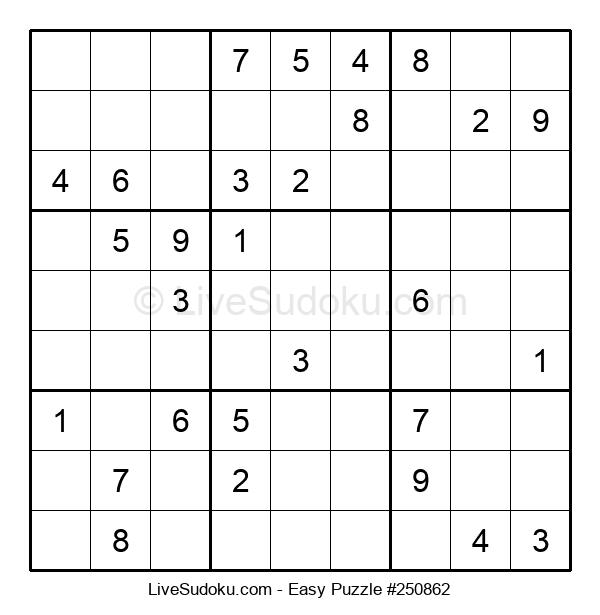 Beginners Puzzle #250862