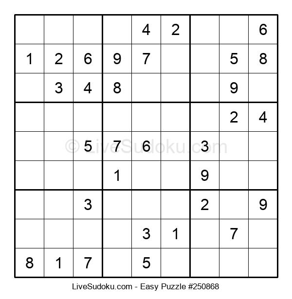 Beginners Puzzle #250868