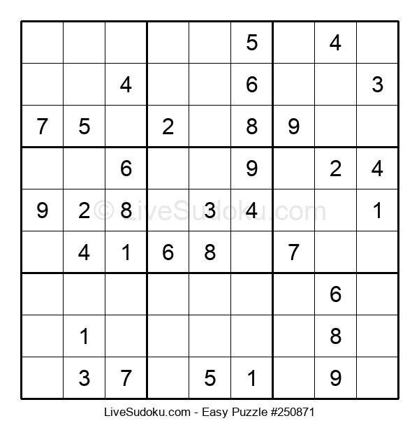 Beginners Puzzle #250871