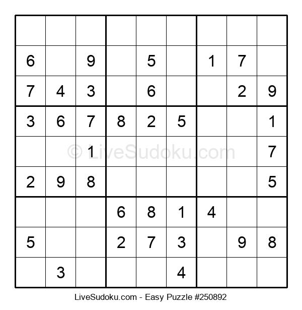 Beginners Puzzle #250892