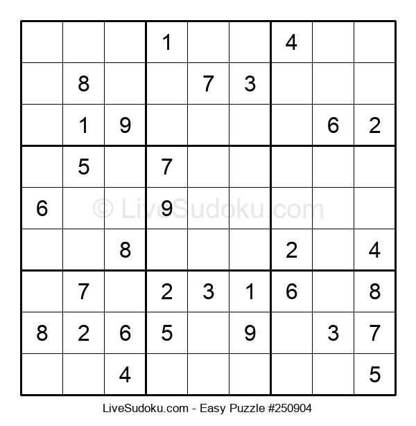 Beginners Puzzle #250904