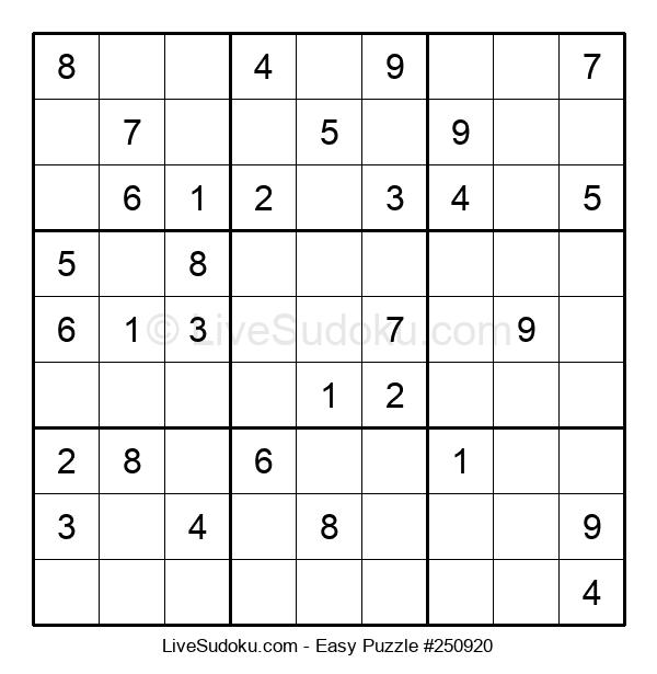 Beginners Puzzle #250920