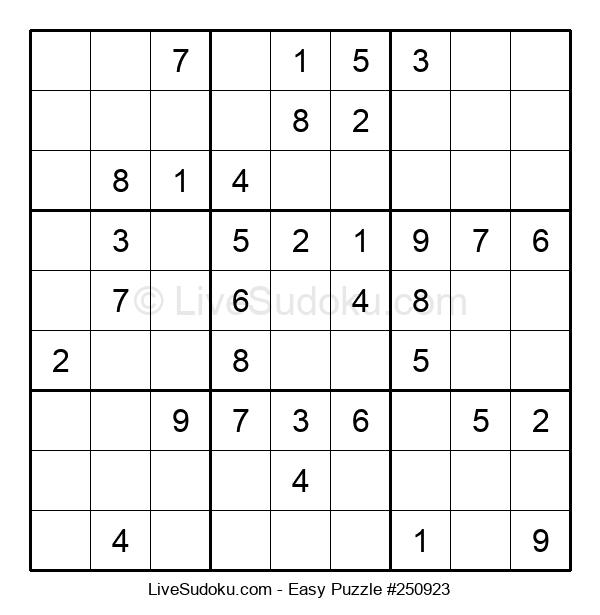 Beginners Puzzle #250923
