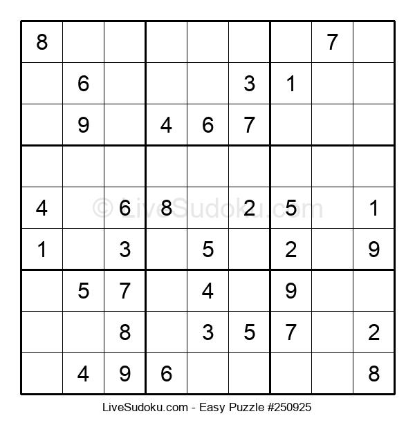 Beginners Puzzle #250925