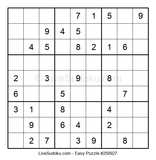 Beginners Puzzle #250927
