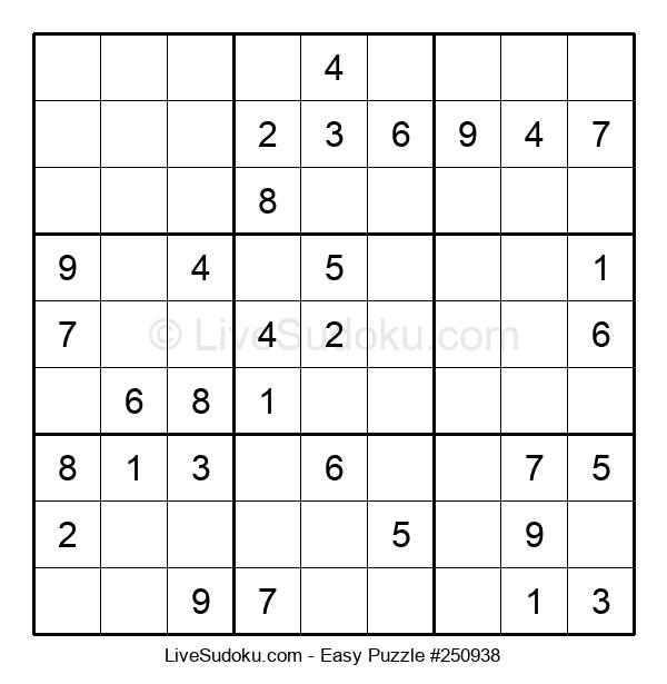 Beginners Puzzle #250938