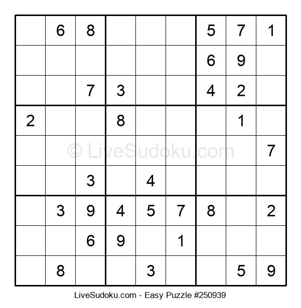 Beginners Puzzle #250939