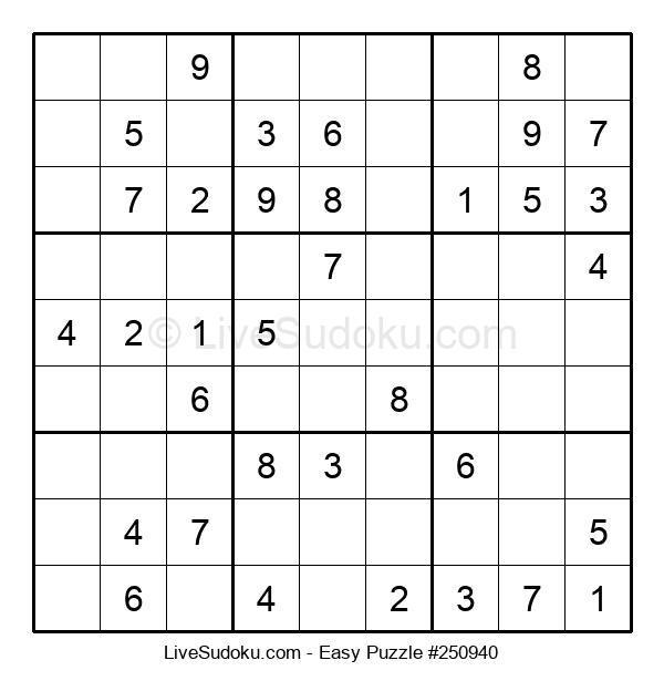 Beginners Puzzle #250940