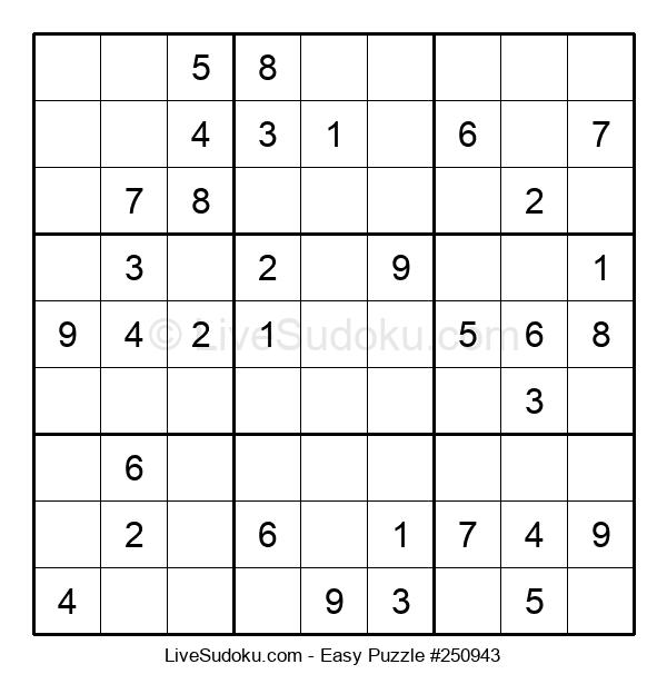 Beginners Puzzle #250943
