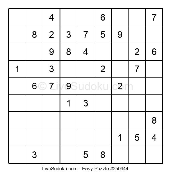Beginners Puzzle #250944