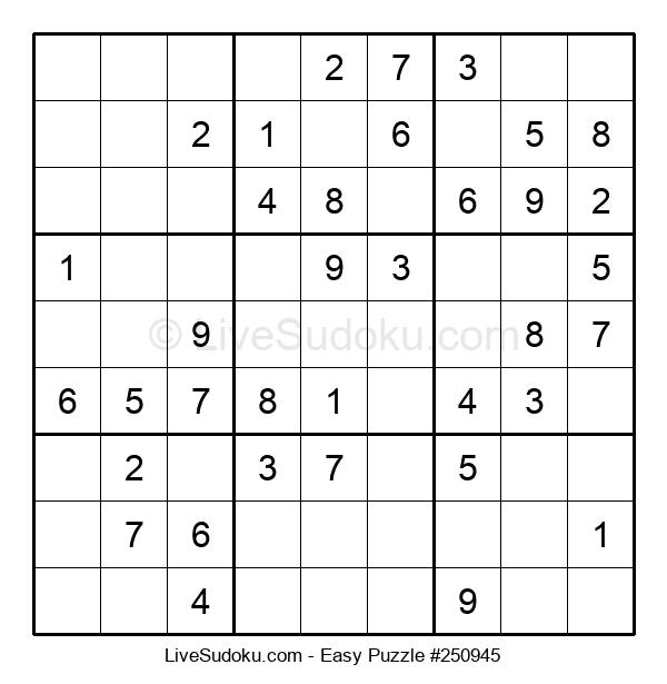 Beginners Puzzle #250945