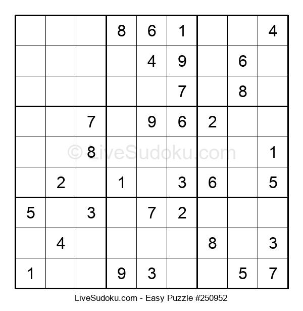 Beginners Puzzle #250952