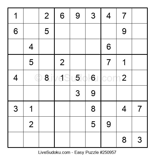 Beginners Puzzle #250957