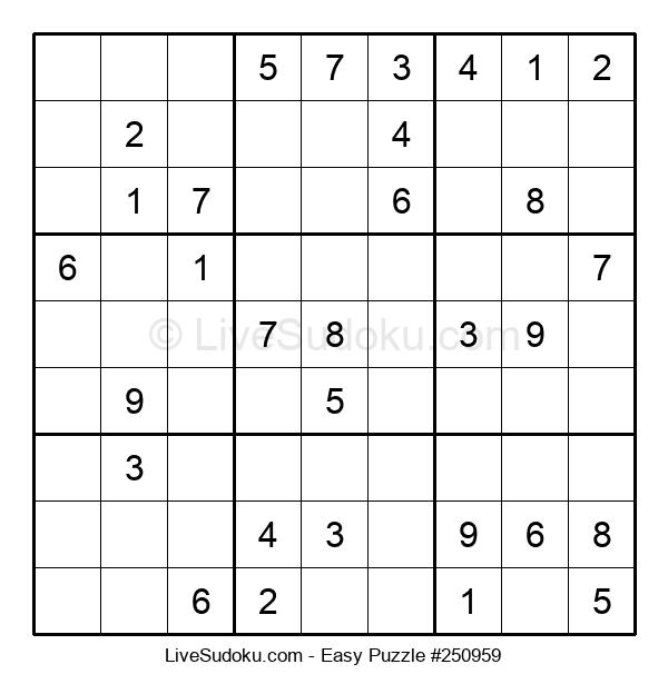 Beginners Puzzle #250959
