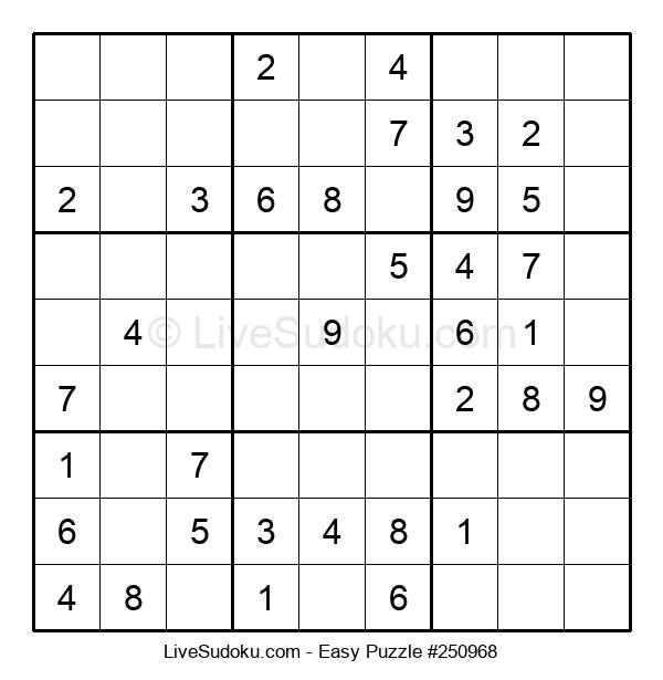 Beginners Puzzle #250968