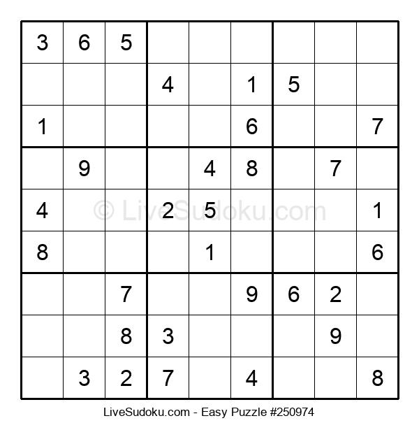 Beginners Puzzle #250974