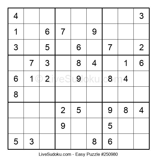 Beginners Puzzle #250980