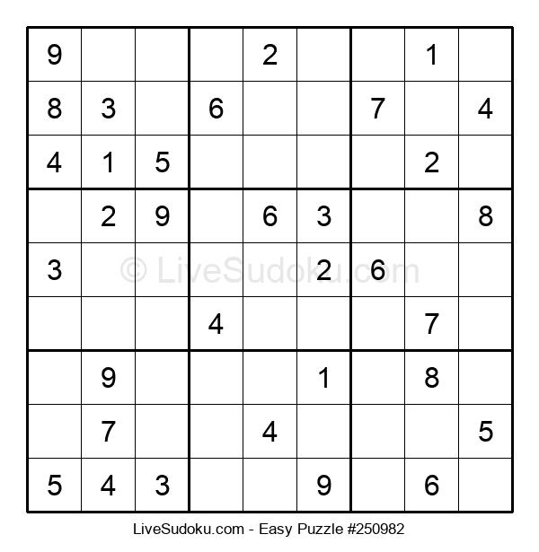 Beginners Puzzle #250982