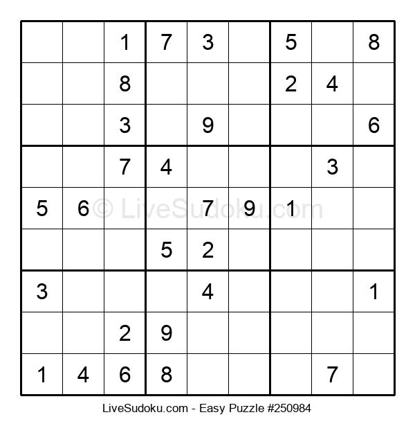 Beginners Puzzle #250984