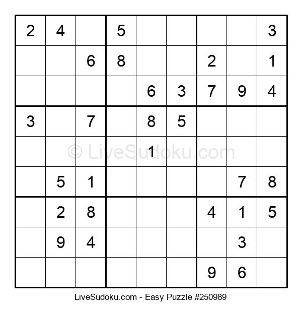 Beginners Puzzle #250989