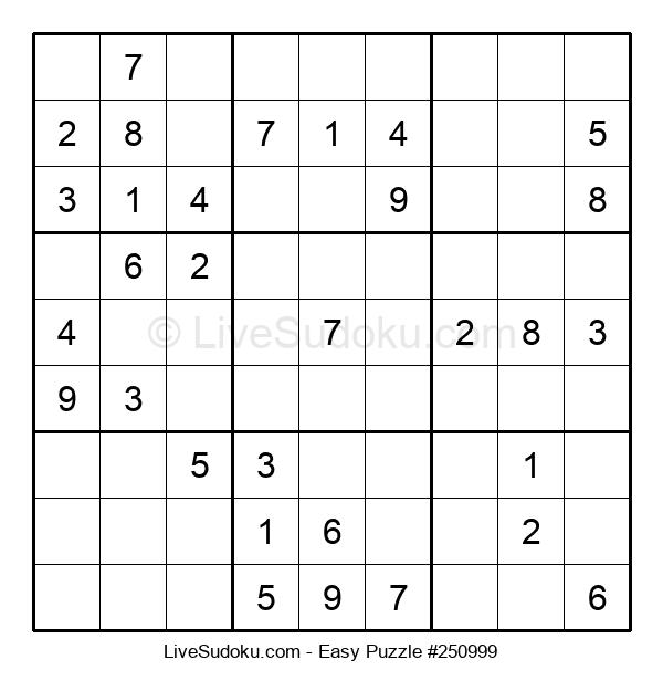 Beginners Puzzle #250999