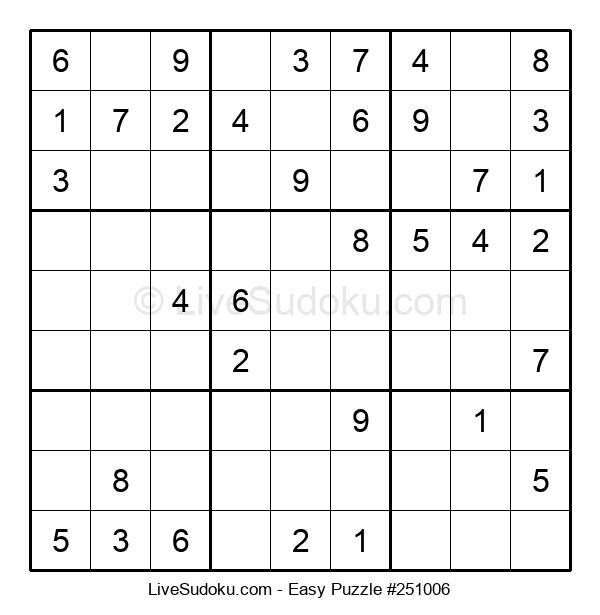 Beginners Puzzle #251006