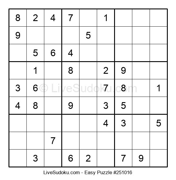 Beginners Puzzle #251016