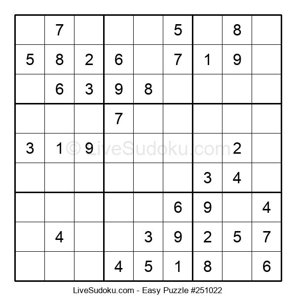 Beginners Puzzle #251022