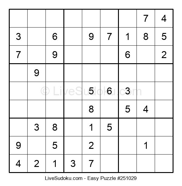 Beginners Puzzle #251029