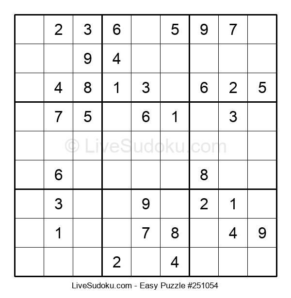 Beginners Puzzle #251054