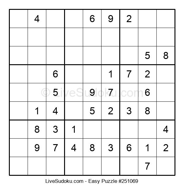 Beginners Puzzle #251069