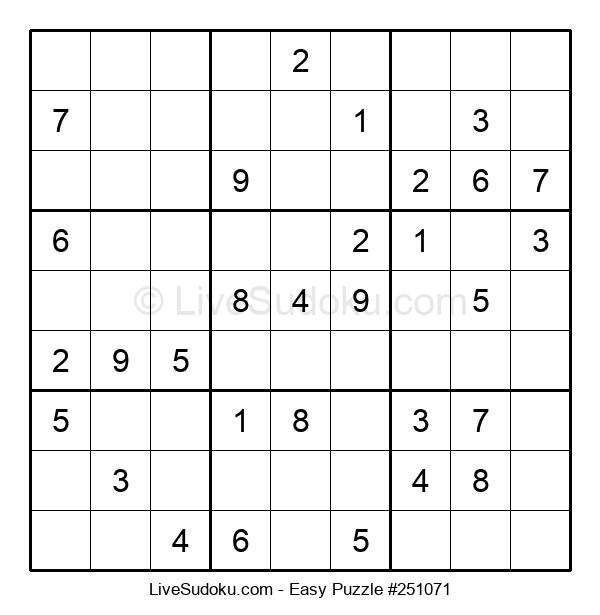 Beginners Puzzle #251071