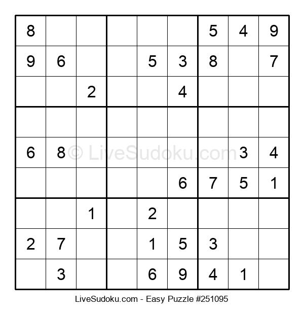 Beginners Puzzle #251095