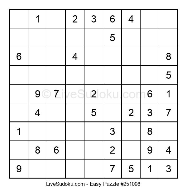 Beginners Puzzle #251098
