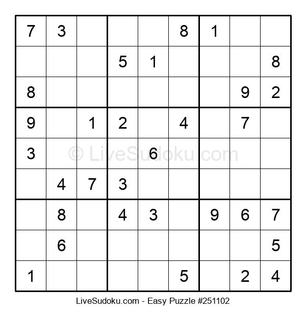 Beginners Puzzle #251102
