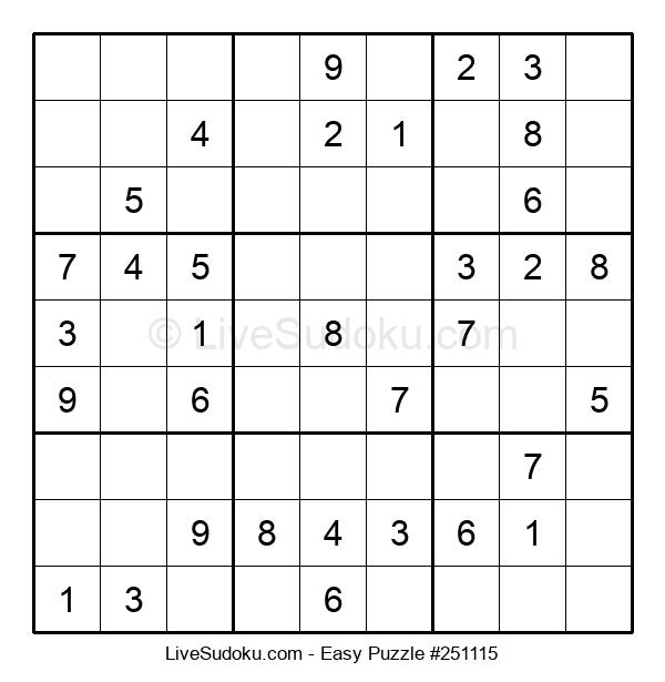 Beginners Puzzle #251115