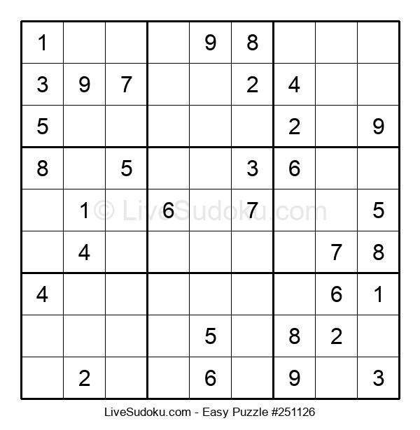 Beginners Puzzle #251126