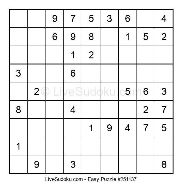 Beginners Puzzle #251137