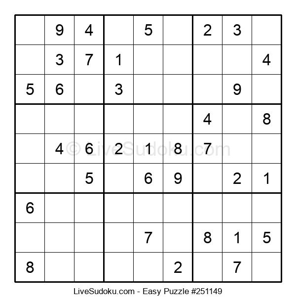 Beginners Puzzle #251149