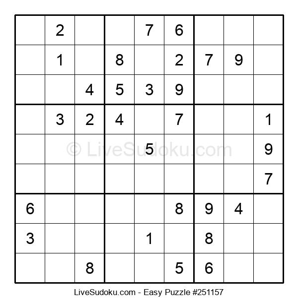 Beginners Puzzle #251157