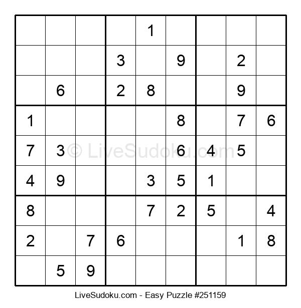 Beginners Puzzle #251159