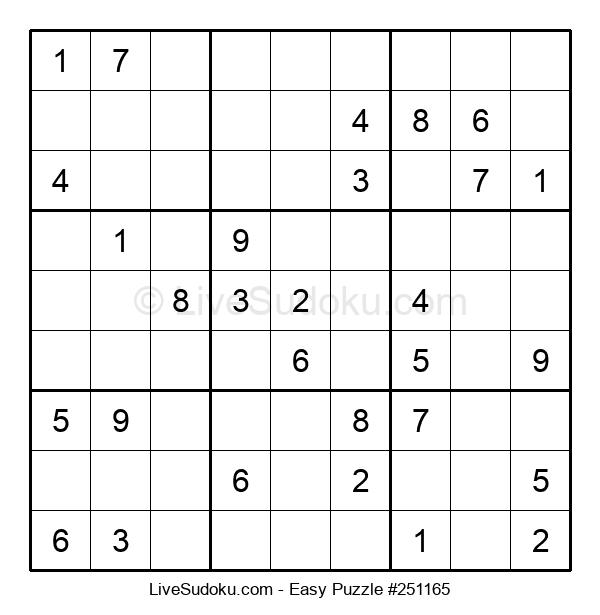 Beginners Puzzle #251165