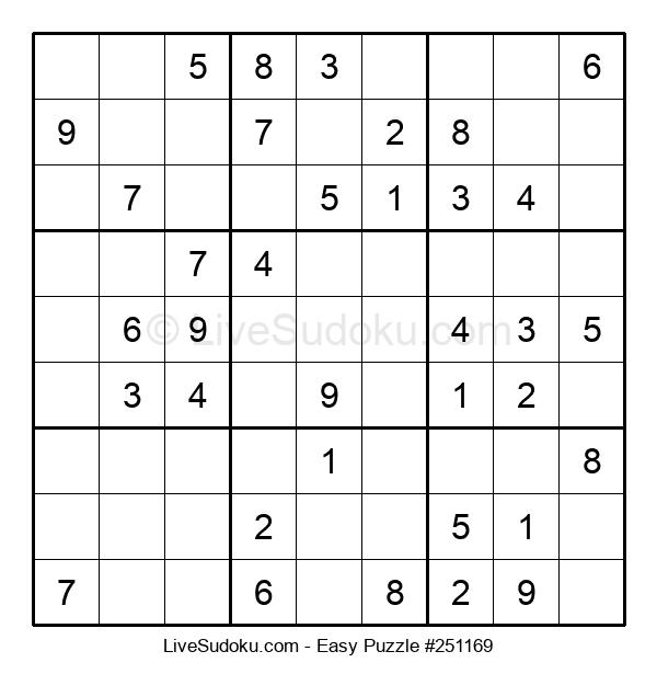 Beginners Puzzle #251169