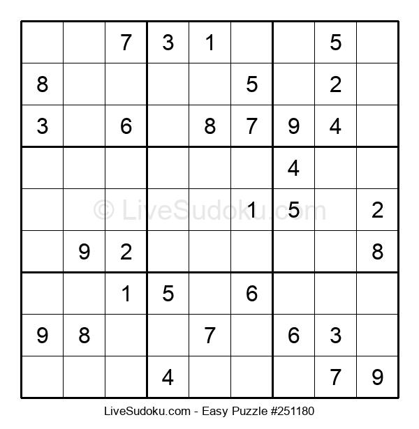 Beginners Puzzle #251180