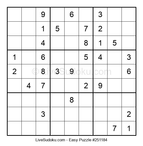 Beginners Puzzle #251184