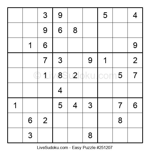 Beginners Puzzle #251207